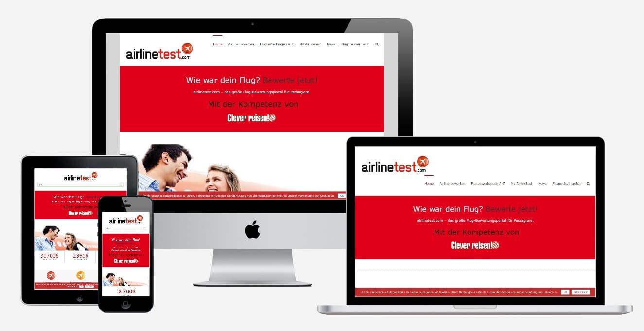 airlinetest.com